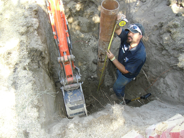 Excavation Well Head